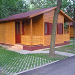 Standard Hütte mit Aussicht auf den Park