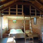 Apartman pro 3 os. s 1 ložnicí s výhledem do zahrady  (s možností přistýlky)
