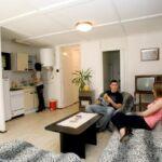Domek drewniany 4-osobowy Tourist kabina sypialna