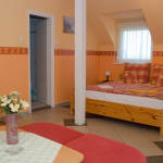 Erkélyes Komfort 4 fős apartman 1 hálótérrel