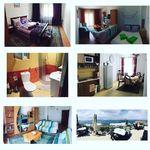 Panorama Erdgeschosses 2-Zimmer-Apartment für 4 Personen (Zusatzbett möglich)