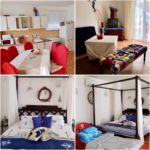 Erdgeschosses Family 2-Zimmer-Apartment für 4 Personen (Zusatzbett möglich)