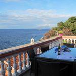 Mansarde 2-Zimmer-Apartment für 4 Personen mit Aussicht auf das Meer (Zusatzbett möglich)