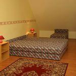 Kertre néző emeleti kétágyas szoba