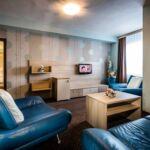 Erkélyes fürdőszobás 2 fős apartman 1 hálótérrel (pótágyazható)