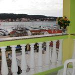 Apartament 4-osobowy z widokiem na ogród z widokiem na morze z 2 sypialniami