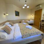 Apartman s klimatizací pro 6 os. s 1 ložnicí na poschodí (s možností přistýlky)
