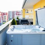 Apartament penthouse cu aer conditionat cu 3 camere pentru 6 pers. (se poate solicita pat suplimentar)