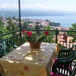 Apartament cu balcon cu vedere spre mare cu 1 camera pentru 3 pers. (se poate solicita pat suplimentar)
