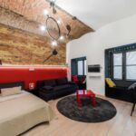 Studio Design 3 fős apartman 1 hálótérrel