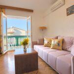 A2 Apartman pro 4 os. s 1 ložnicí s výhledem do zahrady (s možností přistýlky)