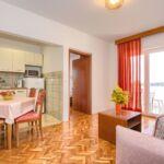 A5 Apartman pro 4 os. s 1 ložnicí s výhledem na moře (s možností přistýlky)