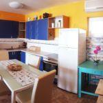 Apartament 8-osobowy na parterze z widokiem na morze z 4 pomieszczeniami sypialnianymi