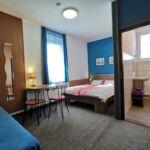 Familie 3-Zimmer-Apartment für 6 Personen mit Terasse (Zusatzbett möglich)