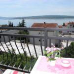 Apartament 2-osobowy z klimatyzacją z widokiem na morze z 1 sypialnią (możliwa dostawka)