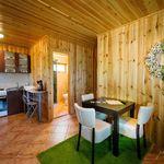 Kertre néző légkondicionált 4 fős faház (pótágyazható)