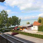 Tóra néző erkélyes 3 fős nyaraló