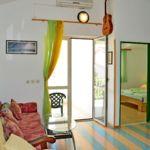 Apartament 4-osobowy Przyjazny podróżom rodzinnym z widokiem na ogród z 2 pomieszczeniami sypialnianymi (możliwa dostawka)