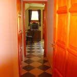 Emeleti teraszos 5 fős apartman 2 hálótérrel