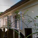 Ganzes Haus Bauernhaus mit Aussicht auf den Garten