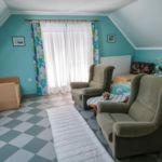 Comfort Mansard 1-Room Apartment for 4 Persons