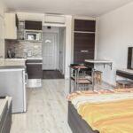 Apartament studio cu aer conditionat cu 1 camera pentru 2 pers.
