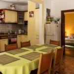 Földszintes Komfort 7 fős apartman 2 hálótérrel (pótágyazható)