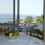 Apartman pro 4 os. se 2 ložnicemi na straně bazénu s výhledem na moře (s možností přistýlky)