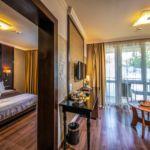 Rezydencja pokój 2-osobowy Junior z 1 pomieszczeniem sypialnianym