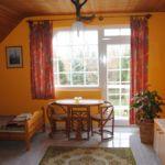 Erkélyes kétágyas szoba (pótágyazható)