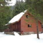 Cabana toata casa cu vedere spre munte pentru 10 pers. (se inchirieaza doar integral)