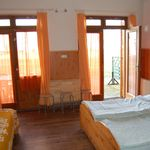 Balatonra néző zuhanyzós 3 fős apartman 1 hálótérrel