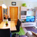 Kerthelyiséggel saját konyhával 6 fős apartman 3 hálótérrel (pótágyazható)