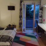 Fürdőszobás saját konyhával 2 fős apartman 1 hálótérrel (pótágyazható)