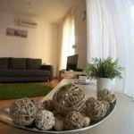 Erkélyes Romantik 4 fős apartman 1 hálótérrel