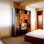 Kertre néző panorámás 3 fős apartman 1 hálótérrel