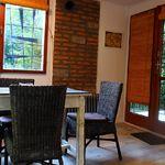 Roubenka (jako celek) ložnicová kabina pro 4 os. s výhledem na les