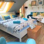 Közös fürdőszobás Komfort négyágyas szoba