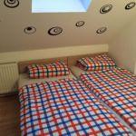Tetőtéri Standard franciaágyas szoba