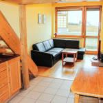 Apartament economy studio cu 2 camere pentru 4 pers.