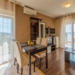 Apartament 2-osobowy z klimatyzacją z widokiem na morze z 1 pomieszczeniem sypialnianym (możliwa dostawka)