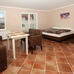 Apartman s terasou s vlastní čajovou kuchyňkou pro 4 os. s 1 ložnicí