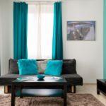 Apartament cu aer conditionat cu bucatarie proprie cu 2 camere pentru 4 pers.