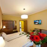 Apartament 4-osobowy Studio z widokiem na las z 2 pomieszczeniami sypialnianymi (możliwa dostawka)