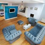 Apartament 4-osobowy z łazienką z 1 pomieszczeniem sypialnianym (możliwa dostawka)