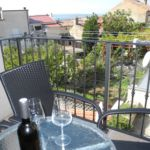 Mansard 2-Room Balcony Apartment for 4 Persons