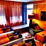 Lcd/plazma televízióval Economy 4 fős apartman 1 hálótérrel (pótágyazható)