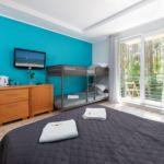 Balkonos Családi négyágyas szoba