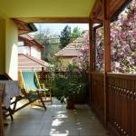 Garden View 1-Room Balcony Apartment for 2 Persons