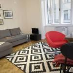 Városra néző emeleti 2 fős apartman 1 hálótérrel